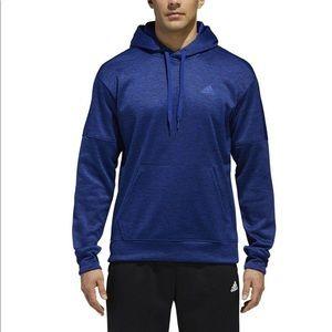 ADIDAS CLIMAWARM royal blue Men's hoodie size M.
